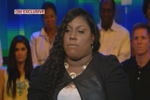 Rachel Jeantel on Piers Morgan last night